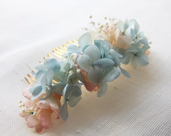 Comb lisa flowers stabilized /Bridal Comb capil Accessory
