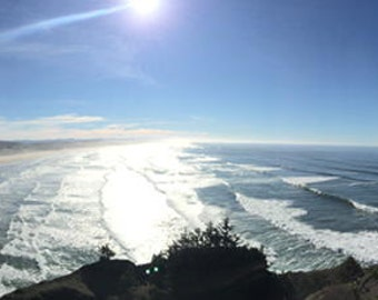 Oregon Coast panoramic I