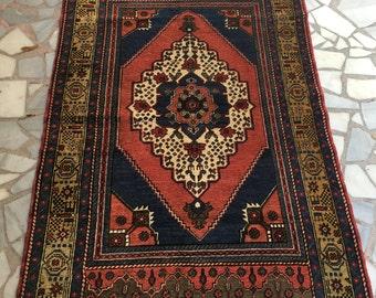 Kurdish Family Made Wool Carpet & Free Shipping 180x110