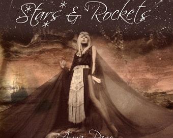 Stars and Rockets 13 track CD + free postcard and pin badge