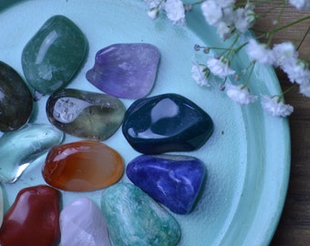 Custom Healing Crystal Consultation | Healing Crystals and Stones Chakra Set With Consultation | Which Stone Is Right For You | Personalized