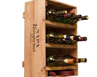 1102 Wine Crate 12 Bottle Wine Rack