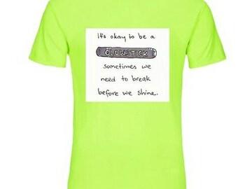 Neon Color Rave T-shirt