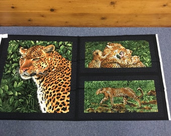 Leopards by Exclusively Quilters
