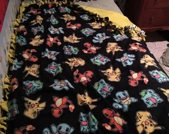 Pokemon Matching pillow and throw