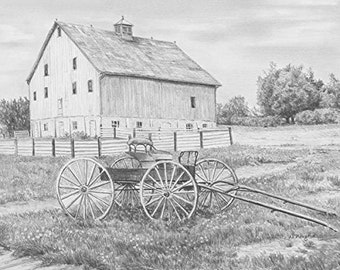 Sketching Made Easy-Country Wagon
