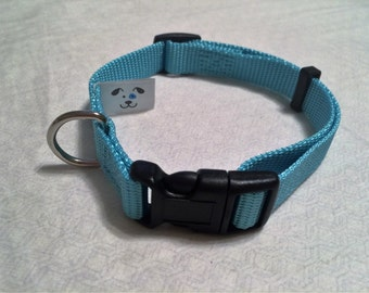 Dog Collar; comes in pink or blue