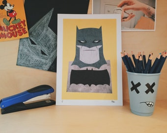Batman The Dark Knight Returns - limited prints