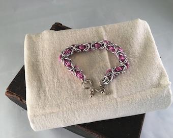 Pink Byzanite Bracelet