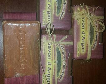 100 % pure argan oil soap