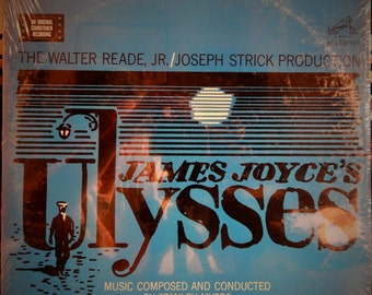 "Ulysses (James Joyce's) 12"" Vinyl Lp MINT Original Soundtrack (1967 music by Stanley Myers) Milo O'Shea, Barbara Jefford, Anna Manahan"