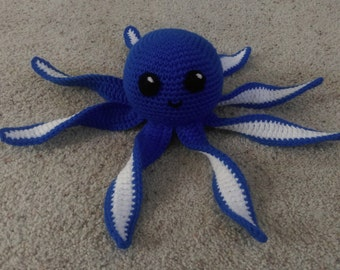 Crochet Octopus Baby Toy
