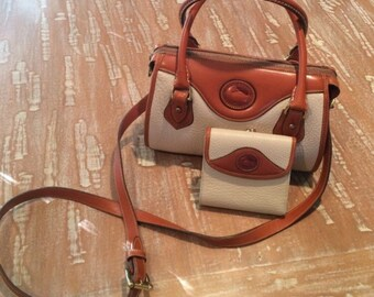 Dooney & Bourke Vintage Handbag and Wallet Set