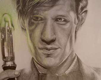 Doctor who eleventh doctor Matt Smith