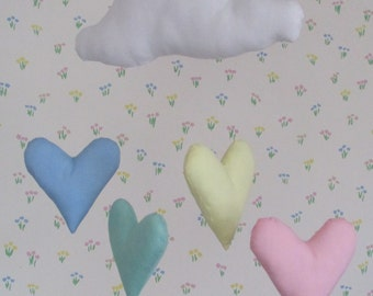 Pastel Cloud and Hearts