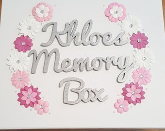 Personalised Memory Boxes