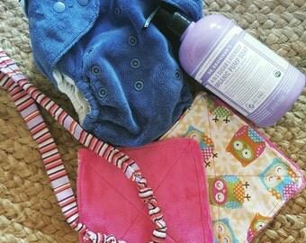 Reusable Eco Baby Wipe Minky Cloths
