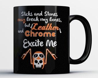 Motorcycle Gift - Biker Mug - Gifts for Motorcycle Riders - Biker Coffee Cup