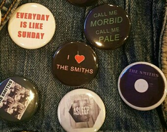 The Smiths, pins, buttons, pin-back,magnet, high quality 1.25 inch