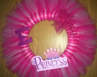 The Princess ~ Tulle Wreath