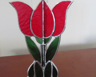 Stained Glass Tulip- 3D