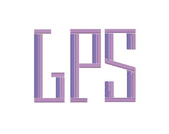 Ellison Monogram Font, 5 inch