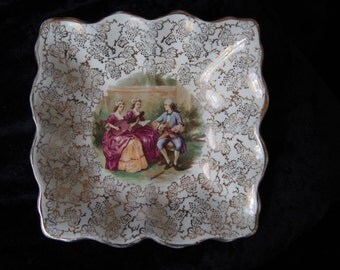 Sweet Dish - Mid England Staffs Semi Porcelain