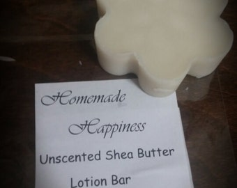 All Natural Lotion bar with shea butter
