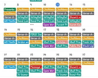 Customized Calendars!