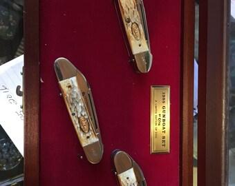 1985 Case Gunboat set Limited Edition