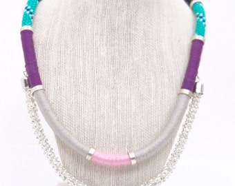 Caribbean Nights Statement Necklace