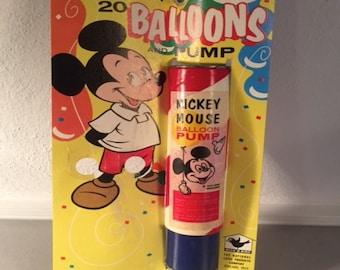 Mickey Mouse Balloon Pump
