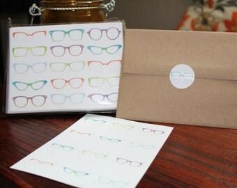Eye Love Glasses Card Set