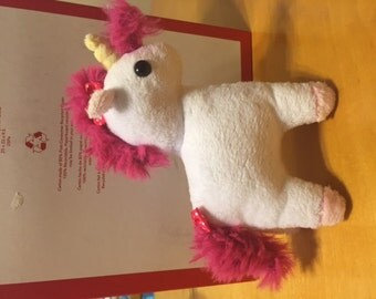 Handmade Stuffed Unicorn