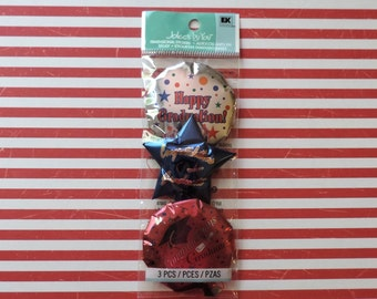 Graduation balloon scrapbook stickers by Jolee's Boutique