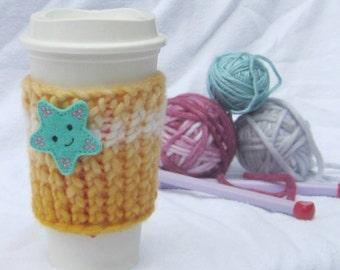 Sale** Starfish Cup Cozy