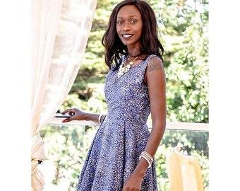 African print dress, short African print dress, short dress, African dress