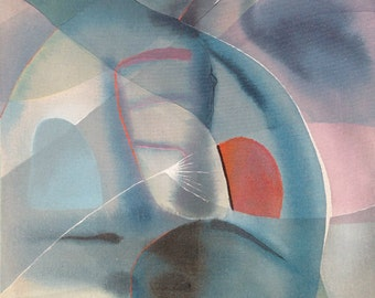 SALE! Light Blue Abstract Art Zen In Blue Peaceful Painting Original Acrylic Abstract Painting Relaxing Wall Art Modern Fine Art Calming