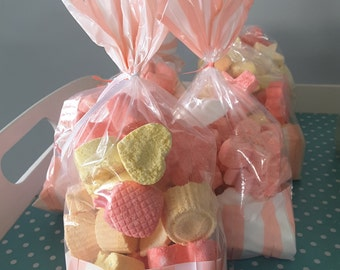 Sweet girls mix up bags of Fizzing Fun