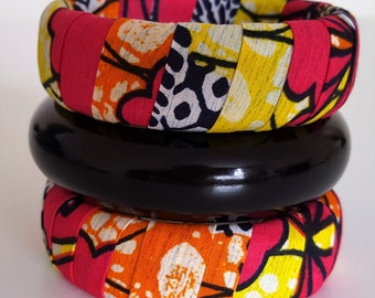 Wrapped Bangles/Bracelets