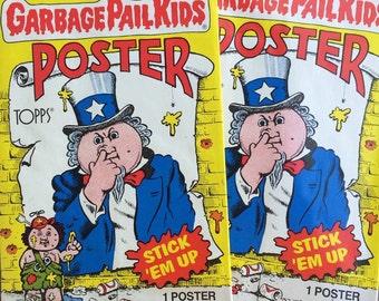 Garbage Pail Kids original poster pack