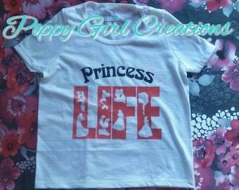 Princess Life Toddler Shirt