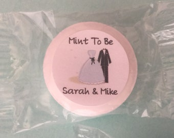 Mint To Be Favors, Bridal Shower Favors, Anniversary Favors, Engagement Favors, Mint To Be, Wedding Favors