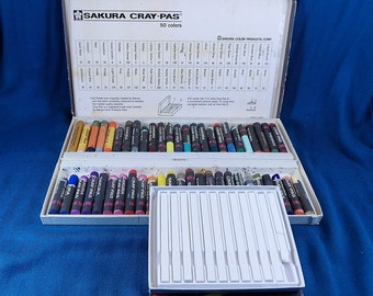 Sakura Cray Pas and White Nupastels Artist Supplies