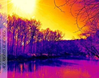 Thermal River Limited Edition 8x12 Print on Kodak Professional Endura Premier Metallic paper