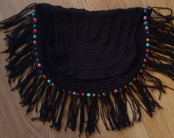 Ibiza/Boho/Festival handbag black
