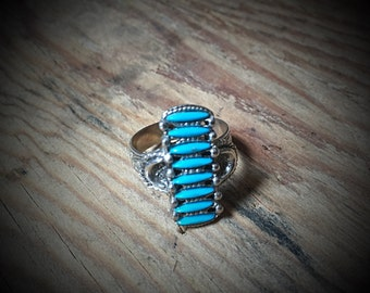 Vintage Turquoise Ring (adjustable)