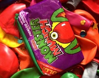 Monster Munch Recycled Crisp Packet Purse