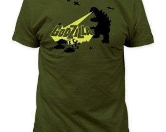 Godzilla army men fitted jersey tee - GZ06(