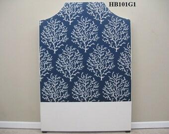 Designer Fabric Twin Upholstered Headboard